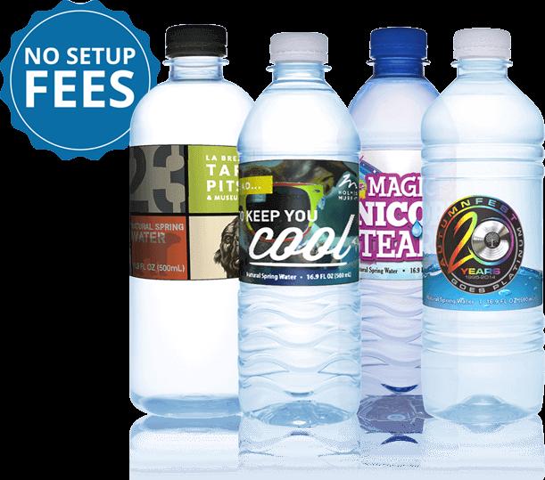 Custom Label Bottled Water | Personalized Bottled Water